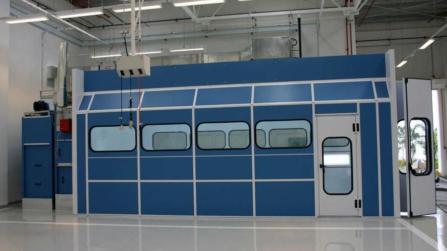 Plafoniere Per Cabine Di Verniciatura : Cabina di verniciatura chiusa per veicolo con filtro super