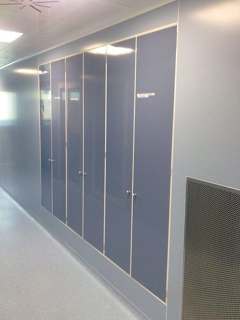 Armadio a parete / in metallo / in alluminio / ventilato - PADANA ...