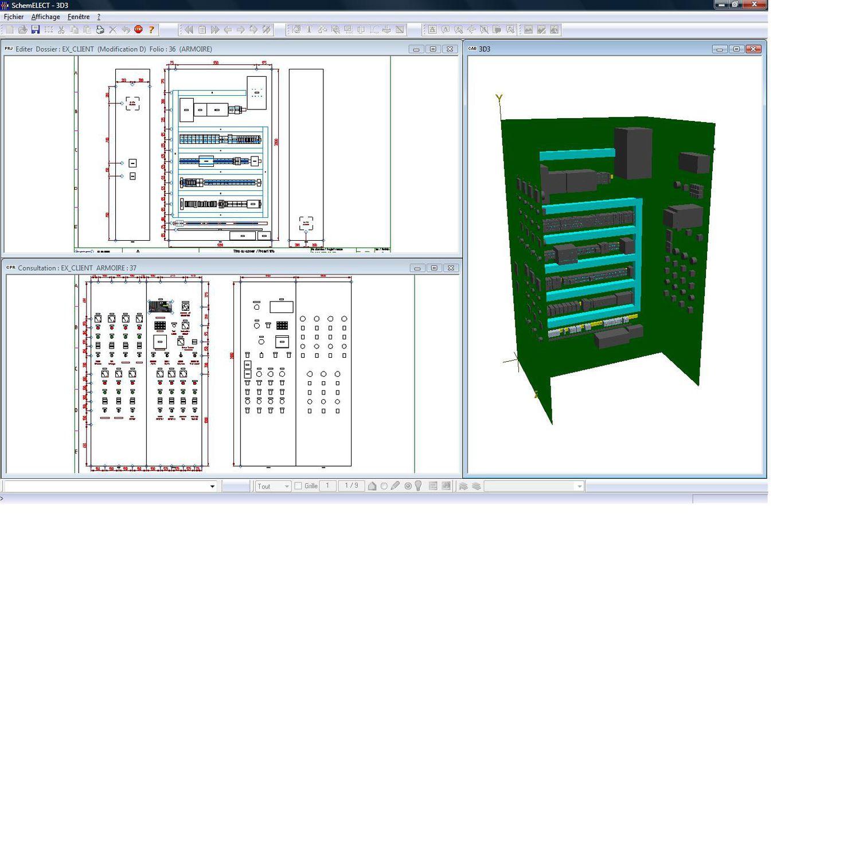 Schema Elettrico Xtz : Software per schema elettrico schemelect ftz informatique