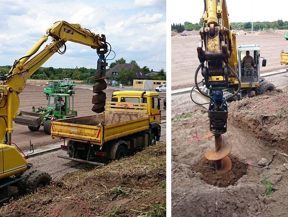 Trivella Idraulica Per Escavatore Elicoidale Mini Series