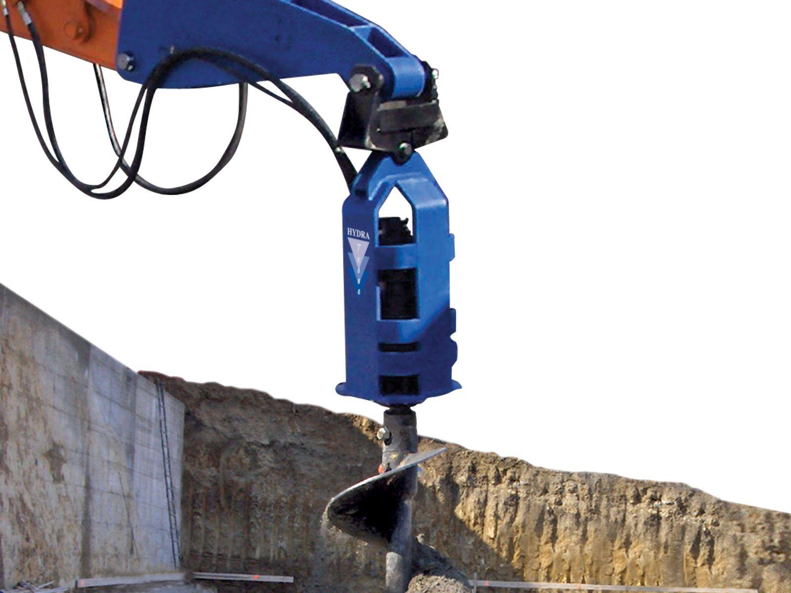 Trivella Idraulica Per Escavatore Elicoidale Maxi Series