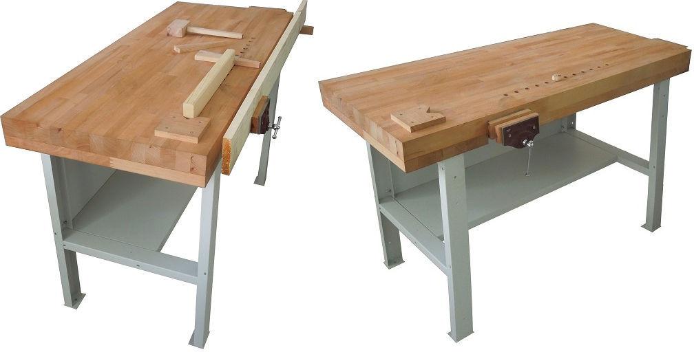 Banco Di Lavoro Con Cassetti : Banco da lavoro con piano in legno e cassetto portautensili