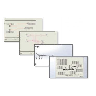 Schema Elettrico : Software di gestione per schema elettrico cad elettrico in
