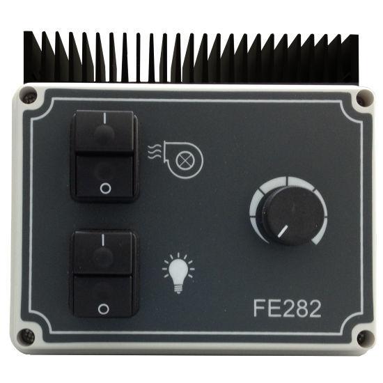 Schema Elettrico Ventilatore Velocità : Controllore di velocità monofase analogico per ventilatori