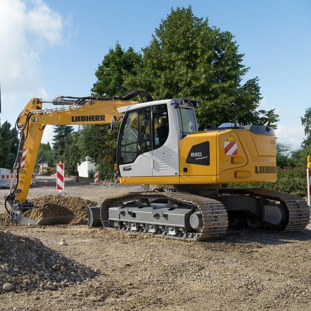 liebherr escavatore  Escavatore intermedio / cingolato / Tier 4 finale / per cantiere di ...