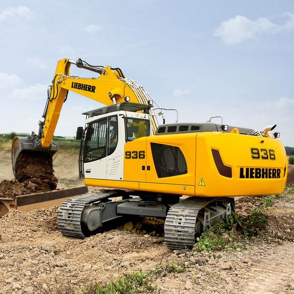 liebherr escavatore  Escavatore di grandi dimensioni / cingolato / Tier 4 finale / per ...