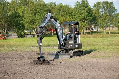 Trivella Idraulica Per Escavatore Bobcat