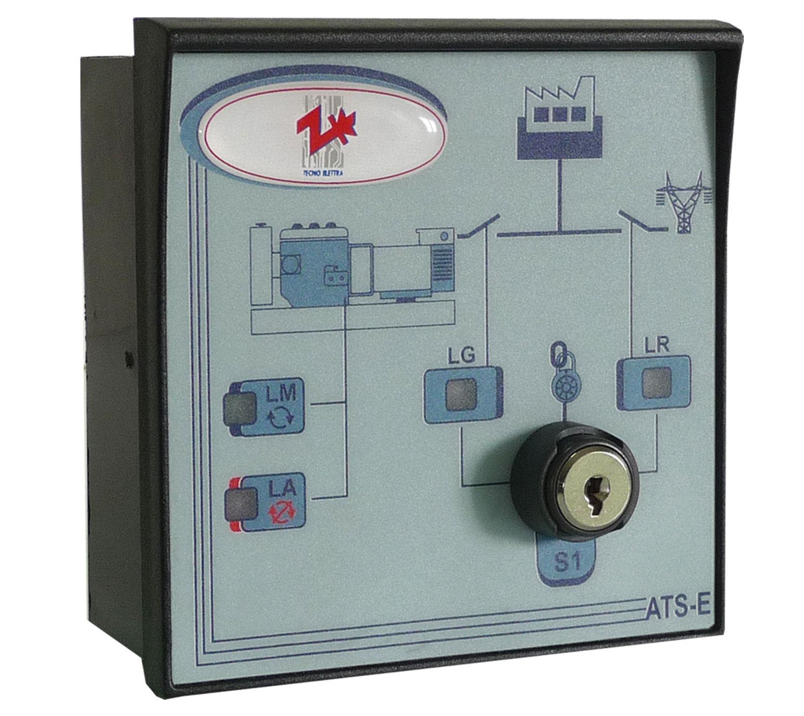 Schema Elettrico Quadro Ats : Controllore di gruppo elettrogeno manuale ats e tecnoelettra
