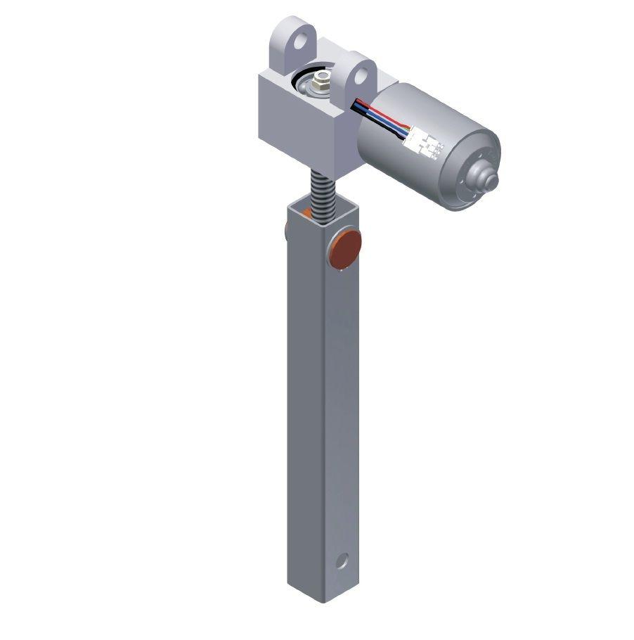 Attuatore lineare / elettrico / telescopico / per la regolazione in ...