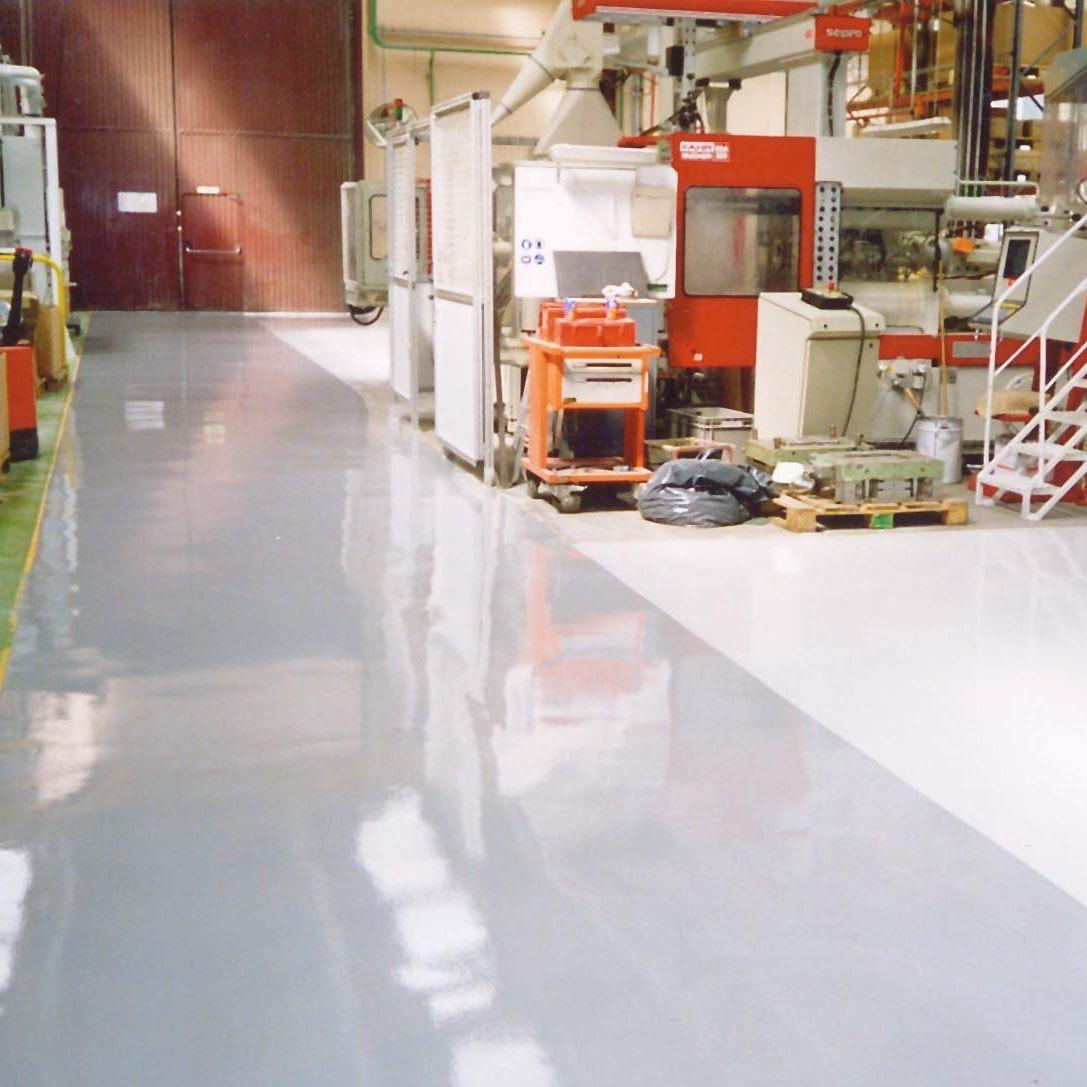 Resina epossidica / per rivestimento di pavimenti / ad alta ...