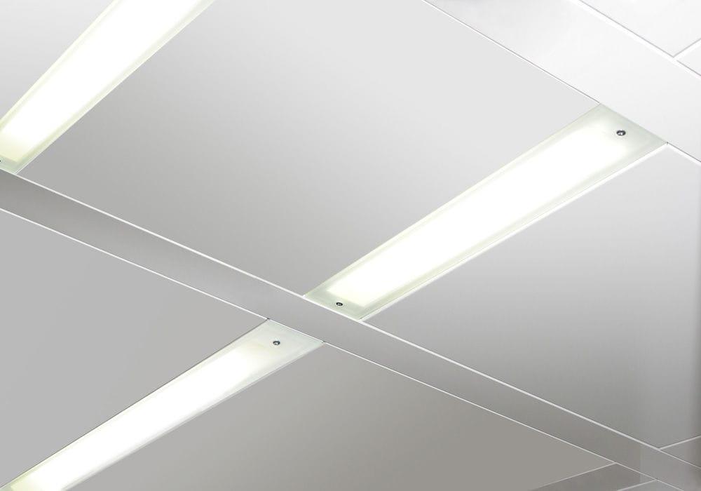 Dispositivo di illuminazione a soffitto led a lampada