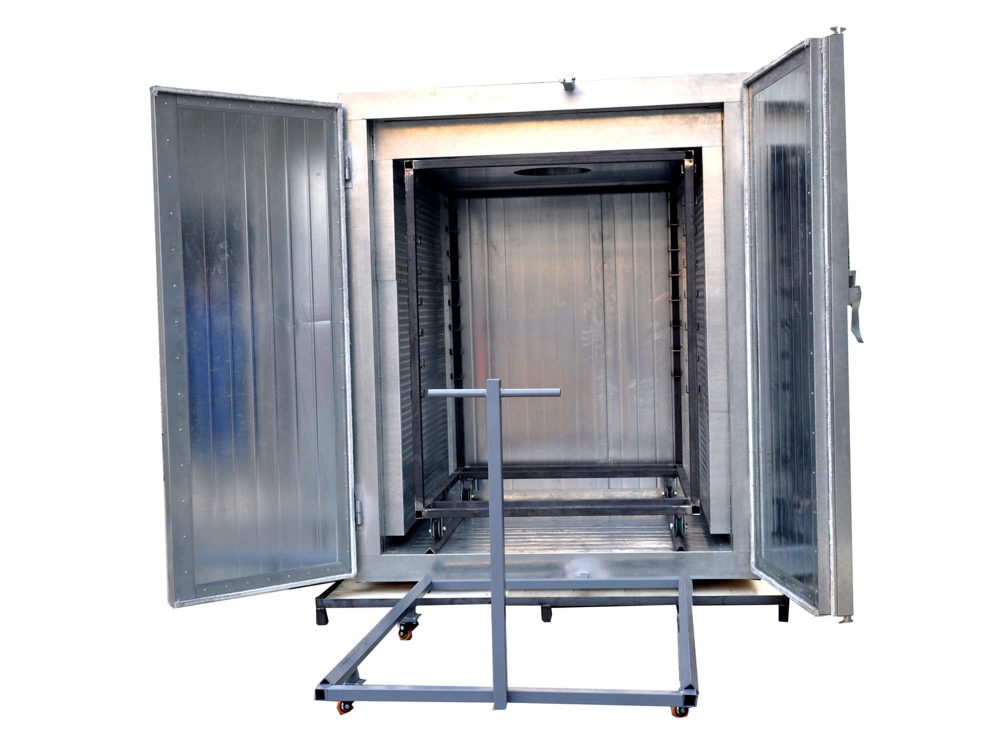 Vernice Per Cabina Armadio : Forno per essiccazione di verniciatura a polvere a carrello a