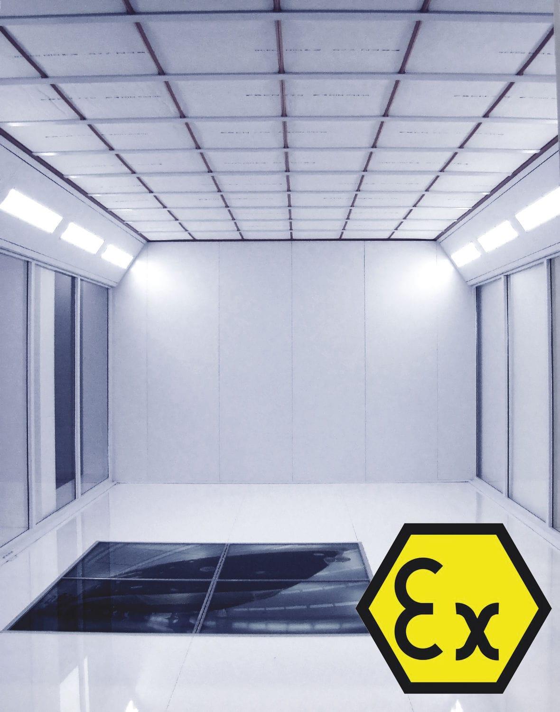 dispositivo di illuminazione luce / led / per camera bianca / da