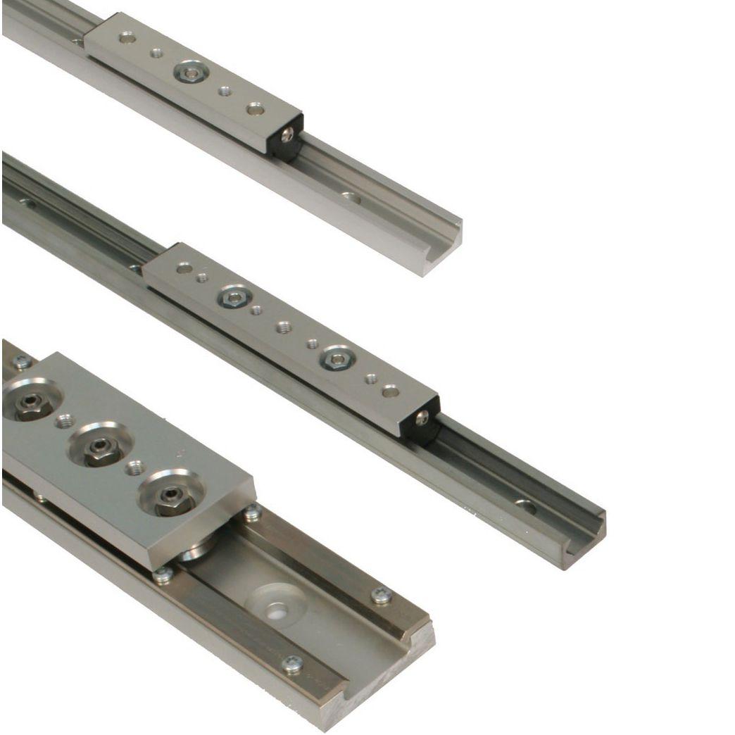 Guida Lineare A Rulli A Pattino In Acciaio In Alluminio