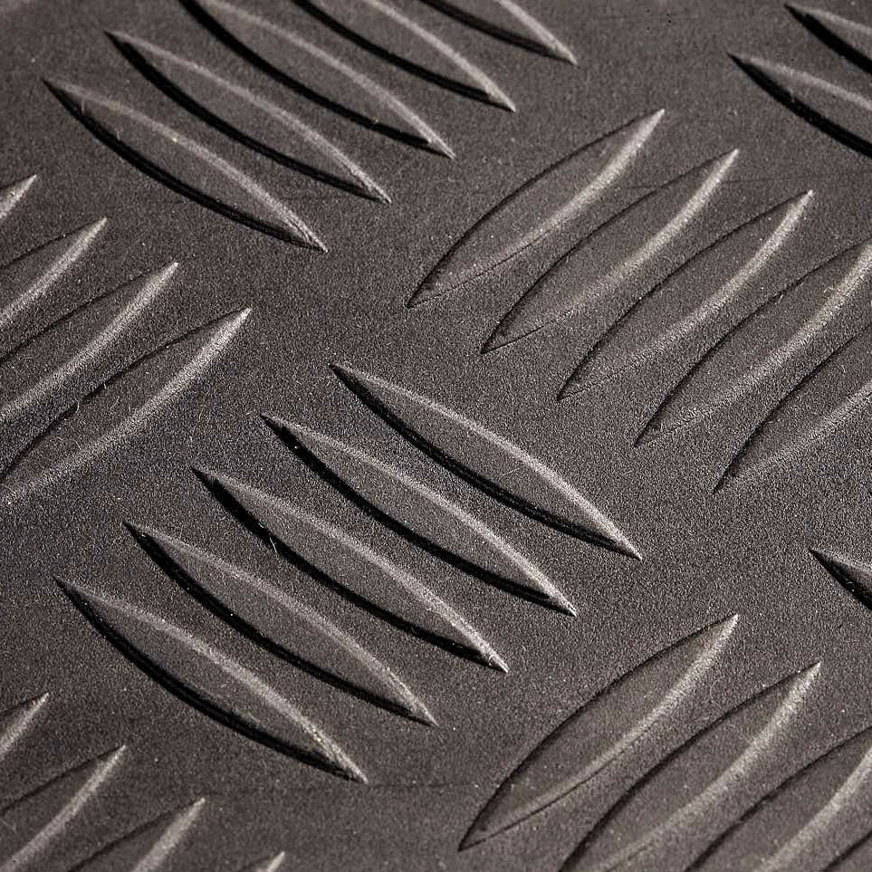 Pavimento In Gomma Antiscivolo : Rivestimento di pavimenti in gomma checker ids