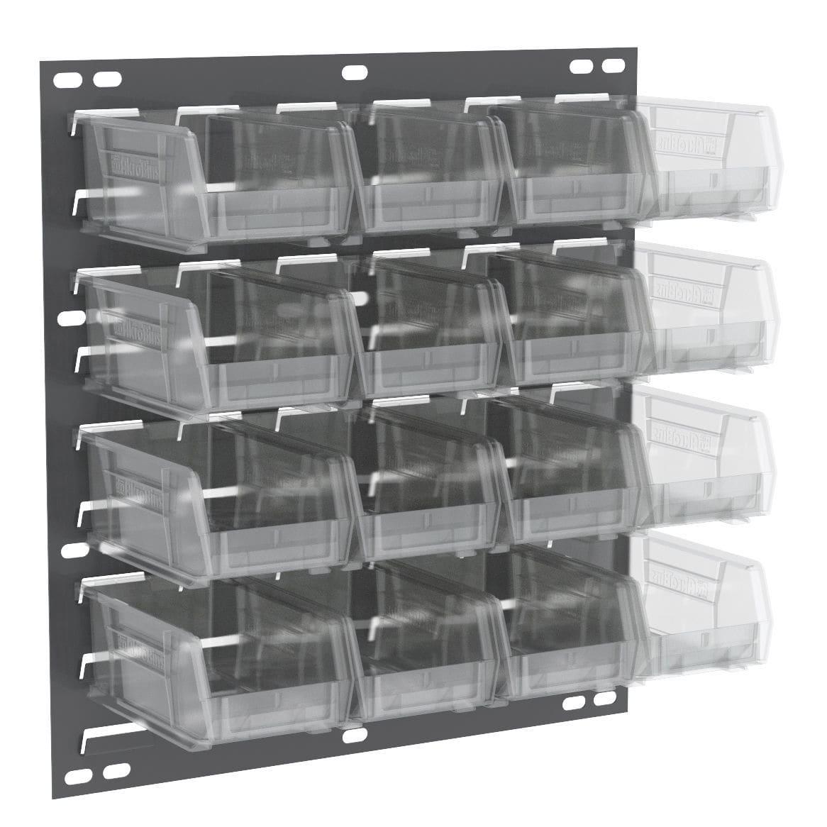 pannello perforato con cassette a bocca di lupo - 30618 - akro mils
