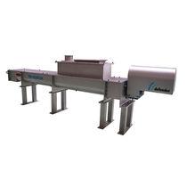 Mescolatore a vite conica / continuo / liquido/solido / per trattamento di acqua