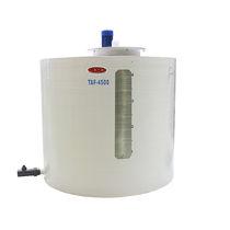 Serbatoio per processi chimici / per fanghi di depurazione / in poliestere rinforzato con fibra di vetro / cilindrico