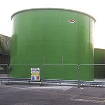Serbatoio di stoccaggio / per acque reflue / per alcool / per acidi e basi