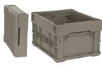Cassa in plastica / di stoccaggio / pieghevole / riutilizzabile