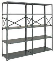 Scaffalatura magazzino di stoccaggio / per carichi pesanti / con ripiani