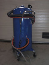 Sabbiatrice a pressione / manuale / mobile