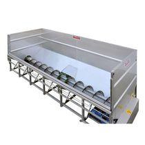 Serbatoio con trasportatore a vite / per l'industria vinicola / in acciaio inox / di processo