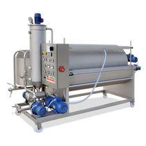 Filtro per liquidi alimentari e bevande / a tamburo / compatto / per vino