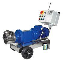 Pompa a rotore / per acido / per prodotti agroalimentari / elettrica