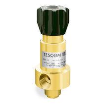 Regolatore di pressione per gas / a pistone / monostadio / in acciaio inossidabile
