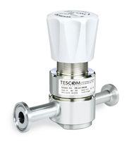 Regolatore di pressione per gas / a membrana / monostadio / in acciaio inox