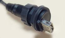 Connettore RF / USB / circolare / in plastica
