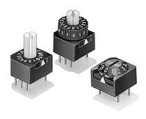 Commutatore rotativo / multipolare / DIP / elettromeccanico