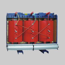 Trasformatore di distribuzione / a secco / a bassa perdita / contro i cortocircuiti