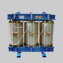 Trasformatore di distribuzione / a secco / a bassa perdita / trifase