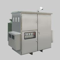 Trasformatore di distribuzione / a bassa perdita / trifase / a media tensione