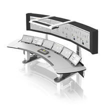 Pannello operatore con tastiera / con piede / di controllo / di visualizzazione