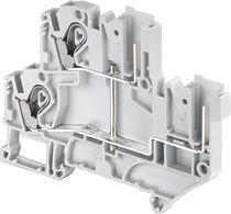 Morsetto componibile con connessione a vite / a presa / con LED / a fusibile