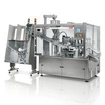Riempitrice-sigillatrice automatica / rotativa / per prodotti fitosanitari / per prodotti farmaceutici