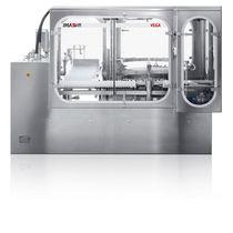 Sistema di lavaggio ad acqua / automatico / per l'industria farmaceutica / a giostra