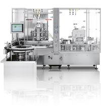 Macchina di riempimento automatica / lineare / asettica / per liquidi