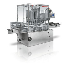 Riempitrice per bottiglie in plastica / automatica / volumetrica / rotativa