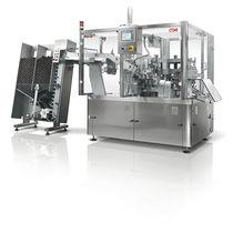 Riempitrice-sigillatrice per tubi / automatica / rotativa / per prodotti farmaceutici