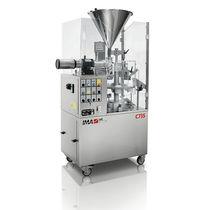 Riempitrice-sigillatrice semiautomatica / rotativa / per prodotti farmaceutici / per tubi