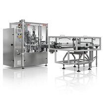 Riempitrice tappatrice monoblocco / volumetrica / rotativa / per liquidi