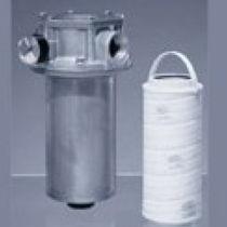 Carter per filtro a cartuccia / per liquido / in acciaio al carbonio / in alluminio