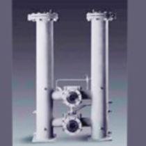 Filtro per liquidi / a cestello doppio / commutabile / duplex