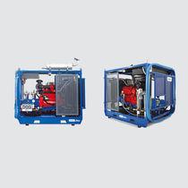 Pulitrice per acqua fredda / con motore diesel / stazionaria / ad alta pressione