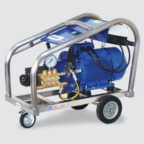 Pulitrice per acqua fredda / trifase / mobile / ad alta pressione