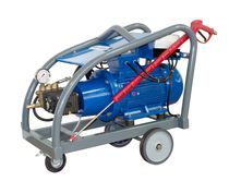 Pulitrice per acqua fredda / trifase / mobile / per applicazioni pesanti